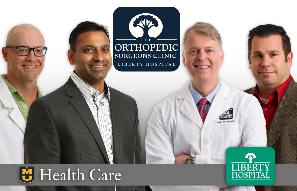 Liberty Hospital and MU Orthopedic Physicians Join Forces to